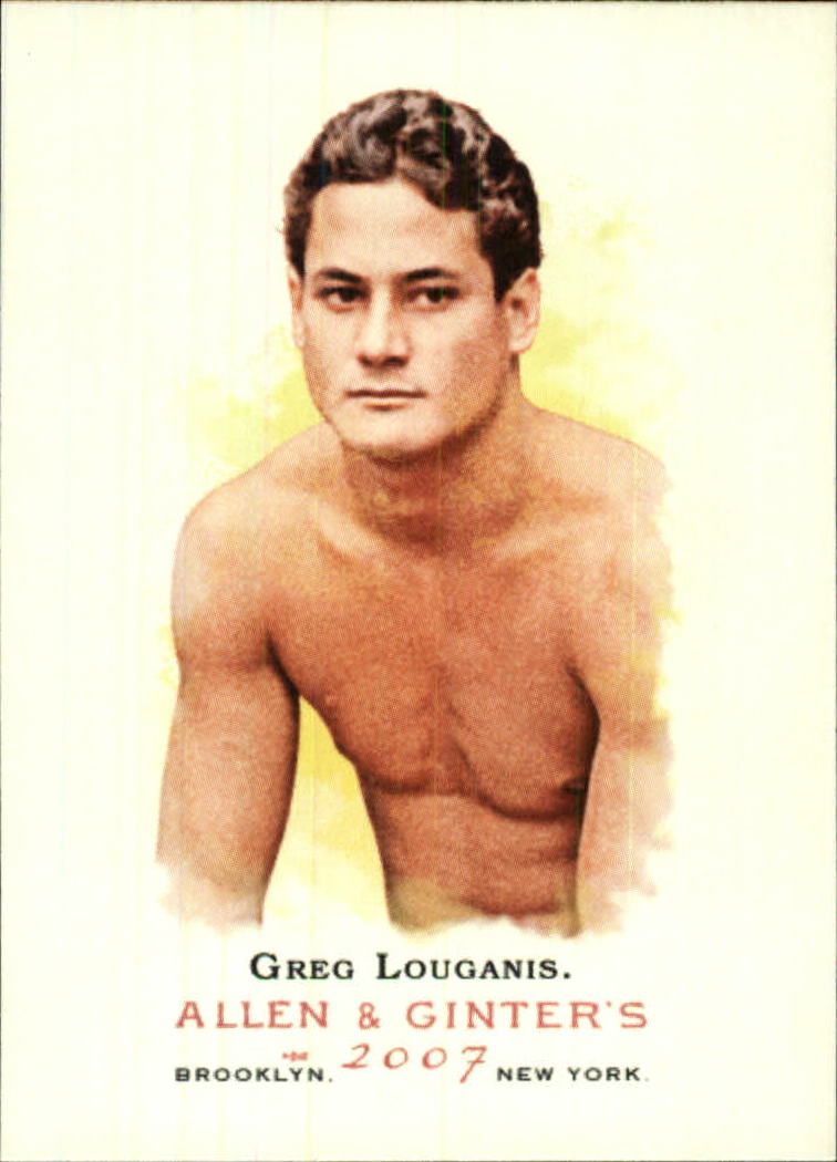 2007 Topps Allen and Ginter #197 Greg Louganis