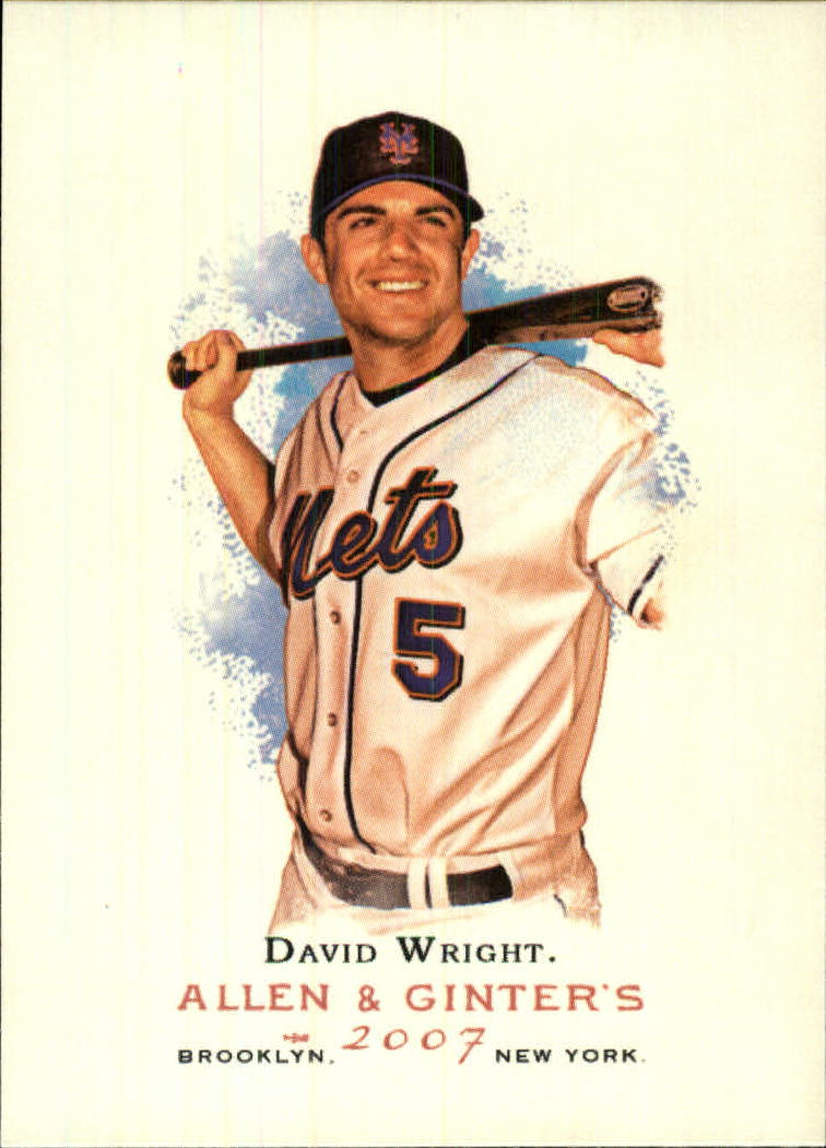 2007 Topps Allen and Ginter #200 David Wright