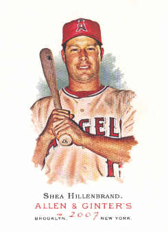2007 Topps Allen and Ginter #202 Shea Hillenbrand