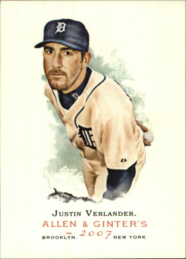 2007 Topps Allen and Ginter #203 Justin Verlander SP