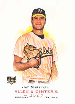 2007 Topps Allen and Ginter #244 Jay Marshall RC