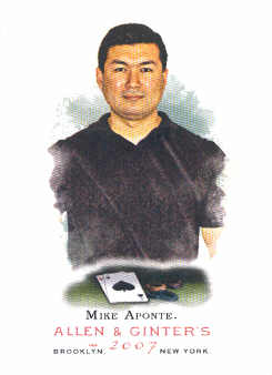 2007 Topps Allen and Ginter #249 Mike Aponte