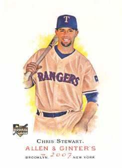 2007 Topps Allen and Ginter #254 Chris Stewart RC