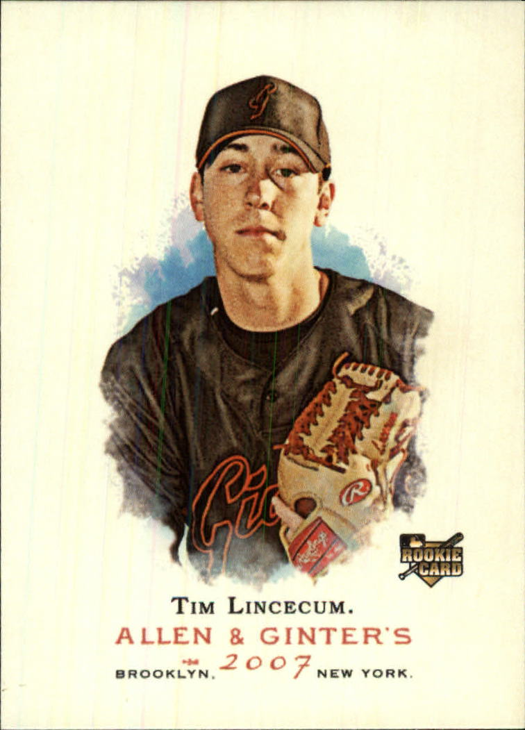 2007 Topps Allen and Ginter #274 Tim Lincecum RC