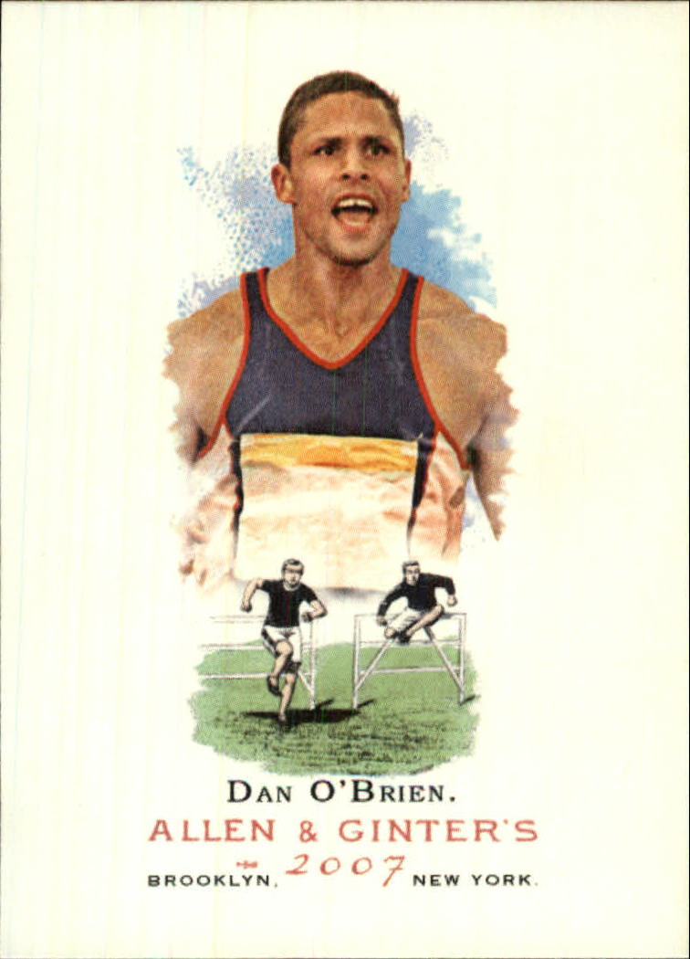 2007 Topps Allen and Ginter #316 Dan O'Brien SP