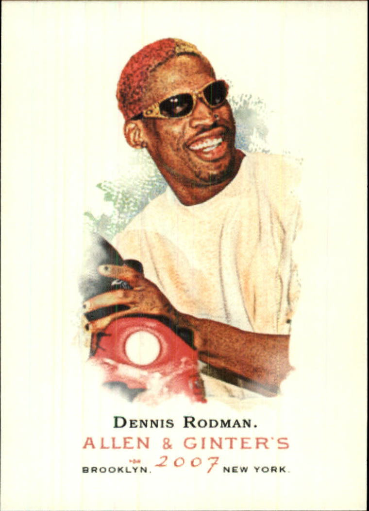 2007 Topps Allen and Ginter #331 Dennis Rodman SP