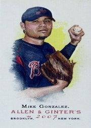 2007 Topps Allen and Ginter Mini #2 Mike Gonzalez