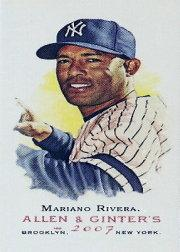 2007 Topps Allen and Ginter Mini #18 Mariano Rivera