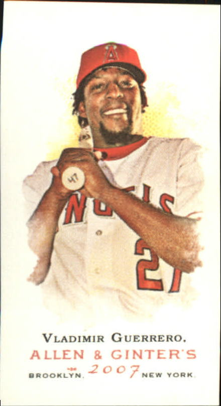 2007 Topps Allen and Ginter Mini #20 Vladimir Guerrero