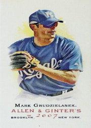 2007 Topps Allen and Ginter Mini #34 Mark Grudzielanek