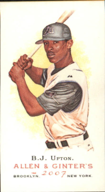 2007 Topps Allen and Ginter Mini #212 B.J. Upton