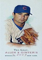 2007 Topps Allen and Ginter Mini #288 Ted Lilly