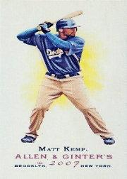 2007 Topps Allen and Ginter Mini A and G Back #47 Matt Kemp