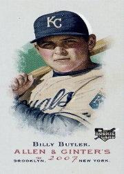 2007 Topps Allen and Ginter Mini A and G Back #147 Billy Butler front image