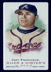 2007 Topps Allen and Ginter Mini Black #15 Jeff Francoeur