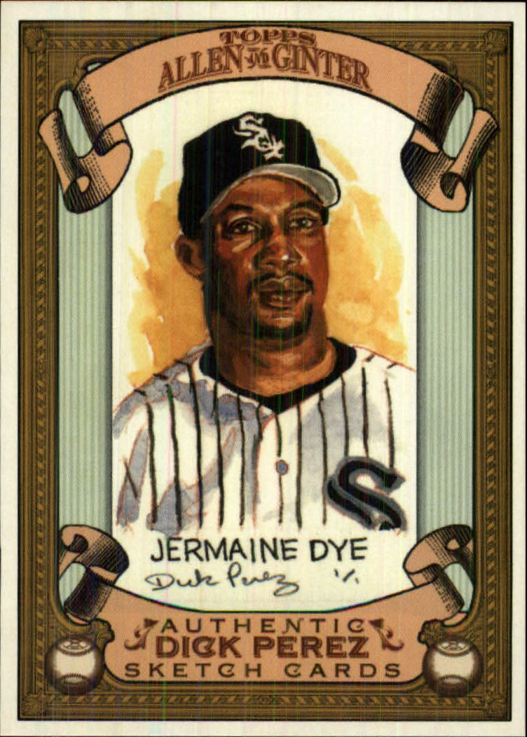 2007 Topps Allen and Ginter Dick Perez #6 Jermaine Dye