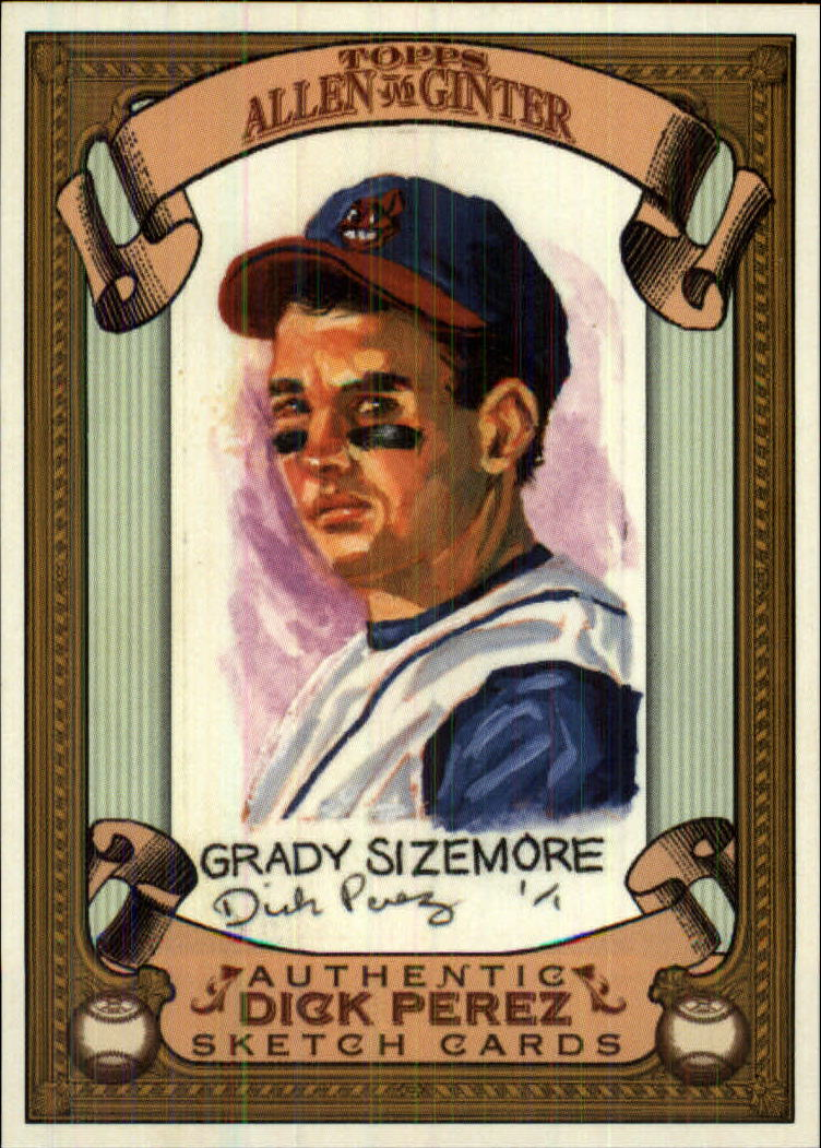 2007 Topps Allen and Ginter Dick Perez #8 Grady Sizemore