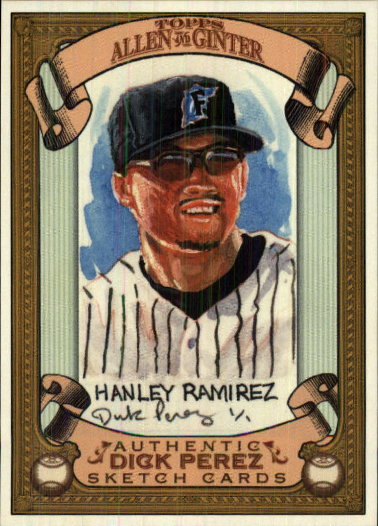 2007 Topps Allen and Ginter Dick Perez #11 Hanley Ramirez