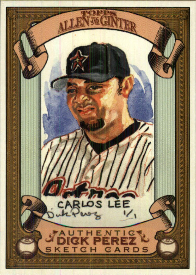 2007 Topps Allen and Ginter Dick Perez #12 Carlos Lee