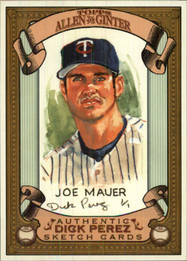 2007 Topps Allen and Ginter Dick Perez #17 Joe Mauer