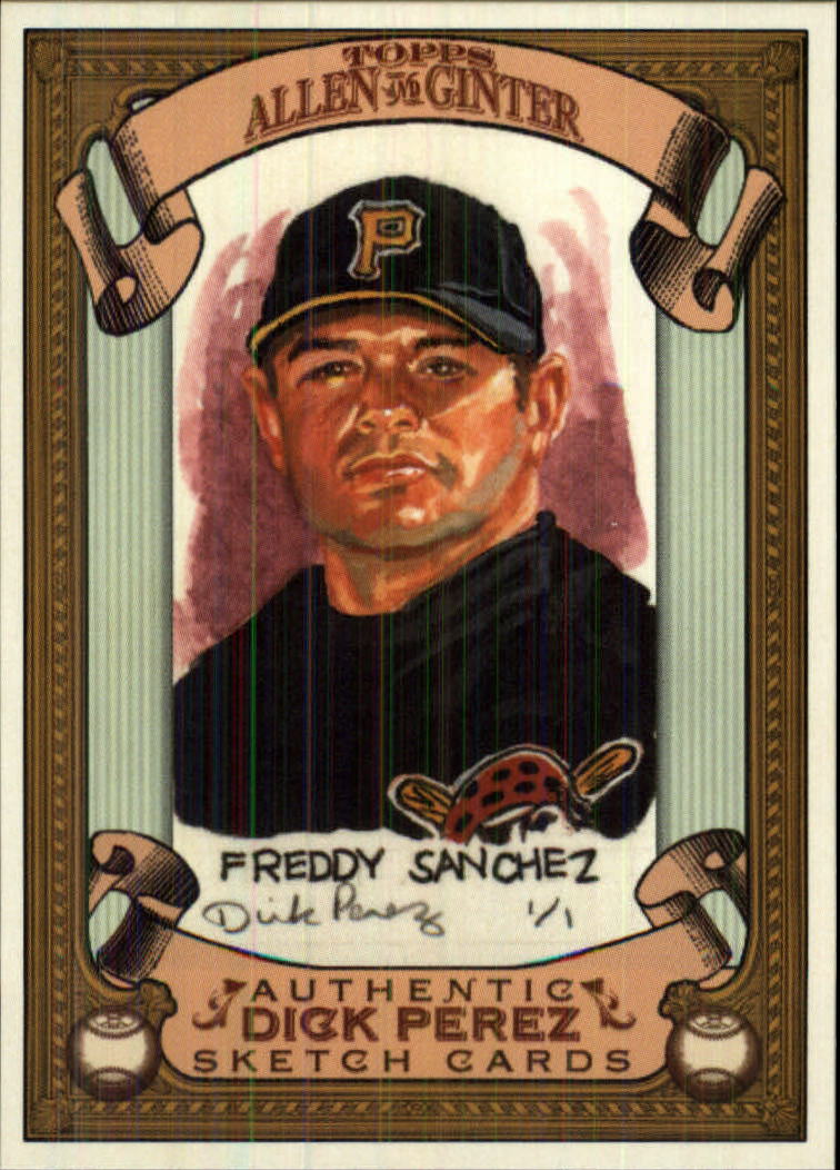 2007 Topps Allen and Ginter Dick Perez #22 Freddy Sanchez