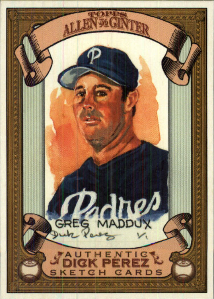 2007 Topps Allen and Ginter Dick Perez #23 Greg Maddux