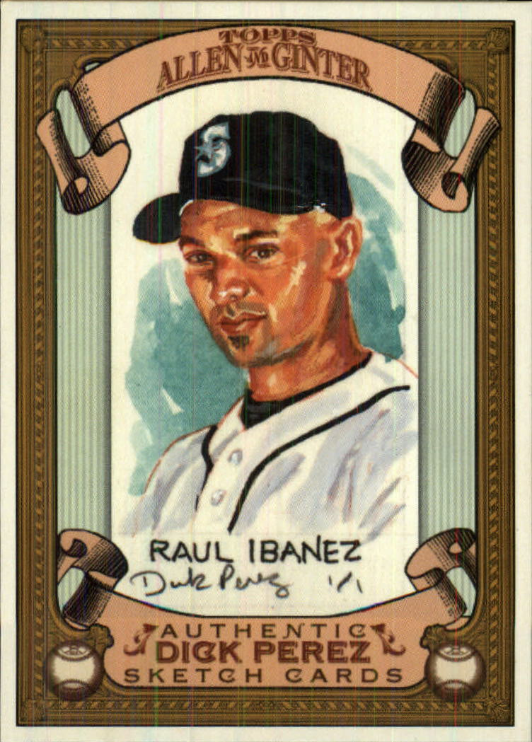 2007 Topps Allen and Ginter Dick Perez #24 Raul Ibanez