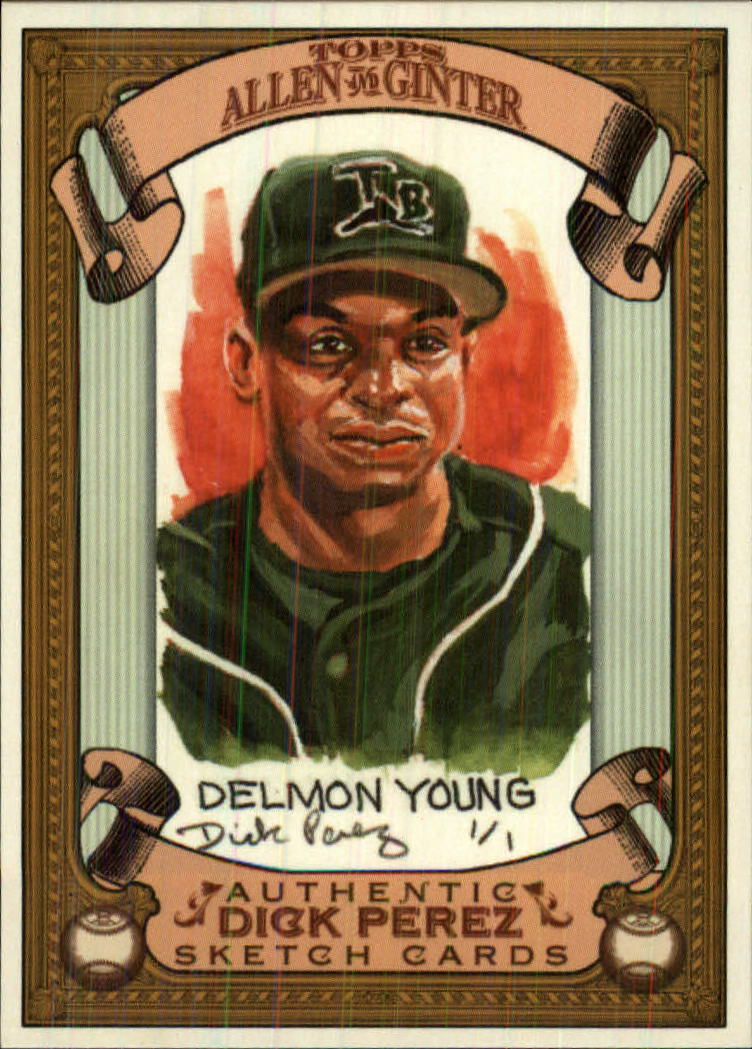 2007 Topps Allen and Ginter Dick Perez #27 Delmon Young