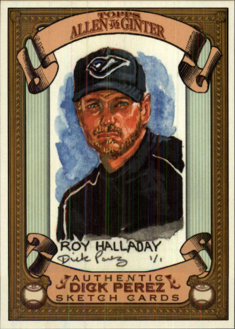 2007 Topps Allen and Ginter Dick Perez #29 Roy Halladay