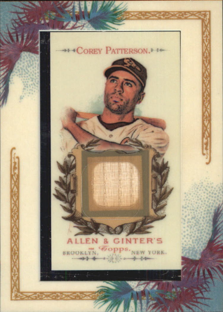 2007 Topps Allen and Ginter Relics #CP Corey Patterson Bat F
