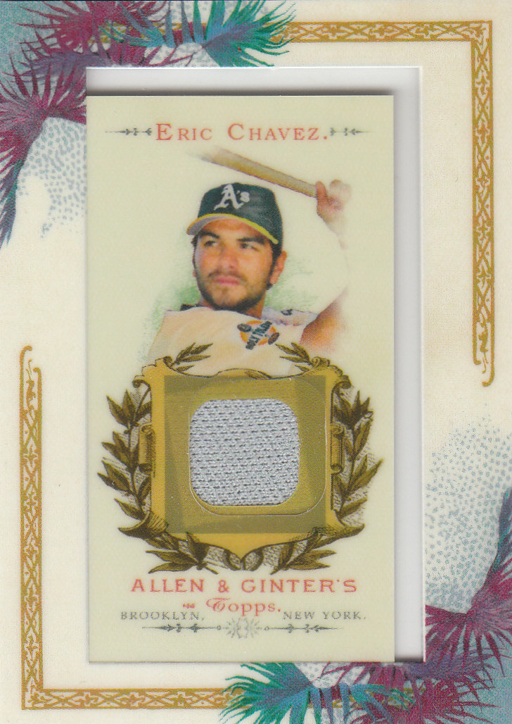 2007 Topps Allen and Ginter Relics #EC Eric Chavez Pants J