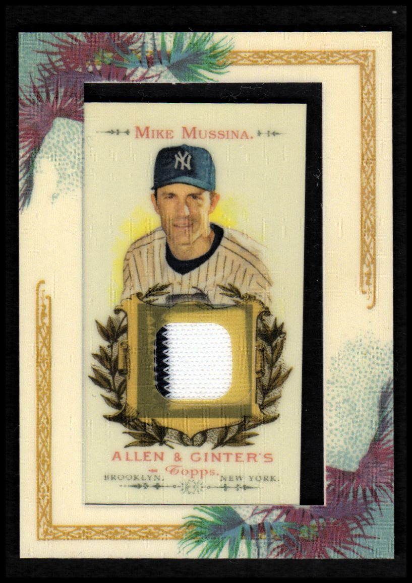 2007 Topps Allen and Ginter Relics #MCM Mike Mussina Pants J