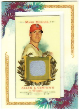 2007 Topps Allen and Ginter Relics #MMU Mark Mulder Pants J