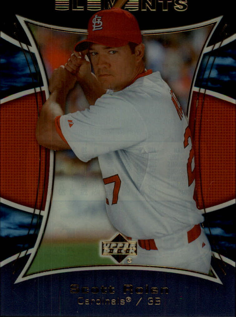 2007 Upper Deck Elements #121 Scott Rolen