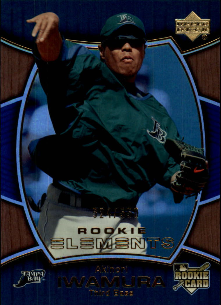 2007 Upper Deck Elements #162 Akinori Iwamura RC