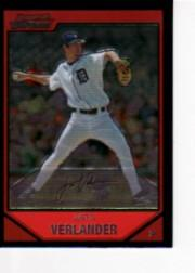 2007 Bowman Chrome #2 Justin Verlander
