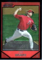 2007 Bowman Chrome #4 Jered Weaver