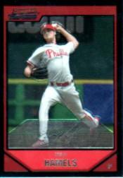 2007 Bowman Chrome #15 Cole Hamels