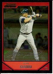2007 Bowman Chrome #52 Jason Giambi