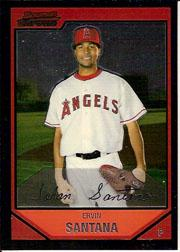 2007 Bowman Chrome #53 Ervin Santana