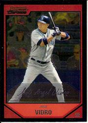 2007 Bowman Chrome #57 Jose Vidro