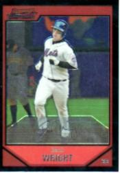 2007 Bowman Chrome #100 David Wright