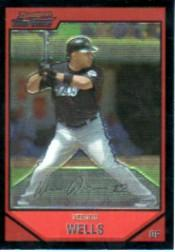 2007 Bowman Chrome #106 Vernon Wells