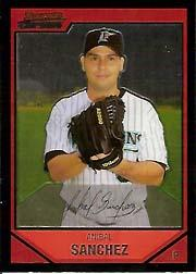 2007 Bowman Chrome #111 Anibal Sanchez