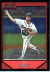2007 Bowman Chrome #138 John Smoltz