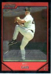 2007 Bowman Chrome #152 Matt Cain