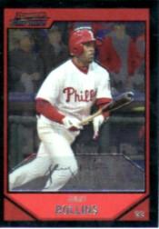 2007 Bowman Chrome #170 Jimmy Rollins