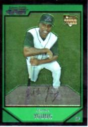 2007 Bowman Chrome #201 Delmon Young (RC)