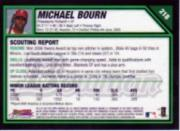 2007 Bowman Chrome #218 Michael Bourn (RC) back image