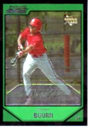 2007 Bowman Chrome #218 Michael Bourn (RC) front image